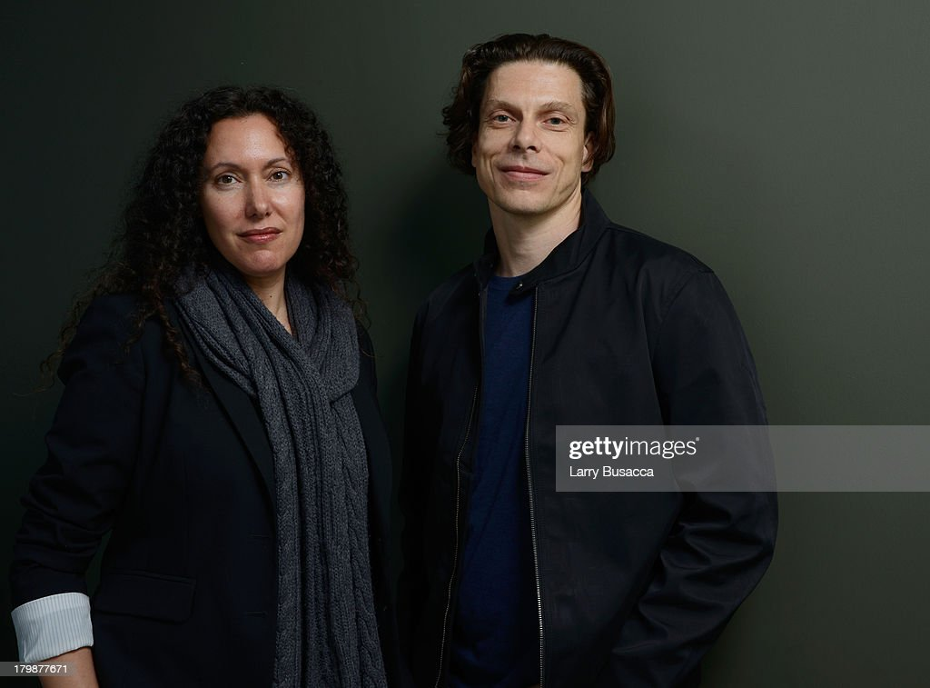 Directors Allison Berg and Frank Keraudren of 'The Dog' pose at the Guess Portrait Studio during 2013 Toronto International Film on September 7, 2013 in Toronto, Canada.