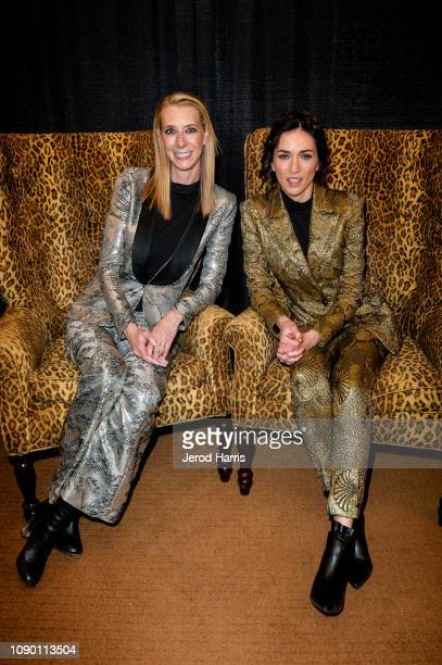 Directors and writers Dawn Luebbe and Jocelyn DeBoer attend the Greener Grass Premiere during the 2019 Sundance Film Festival at Egyptian Theatre on...