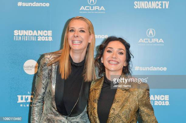 Directors and writers Jocelyn DeBoer and Dawn Luebbe attend the Greener Grass Premiere during the 2019 Sundance Film Festival at Egyptian Theatre on...