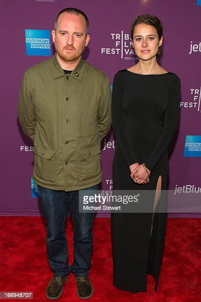 Directors Andy Capper and Juliette Eisner attend the screening of Lil Bub Friendz during the 2013 Tribeca Film Festival at SVA Theater 1 on April 18...