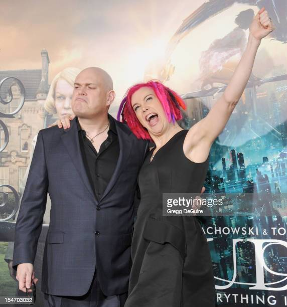 Director's Andy Wachowski and Lana Wachowski arrive at the Los Angeles premiere of Cloud Atlas at Grauman's Chinese Theatre on October 24 2012 in...