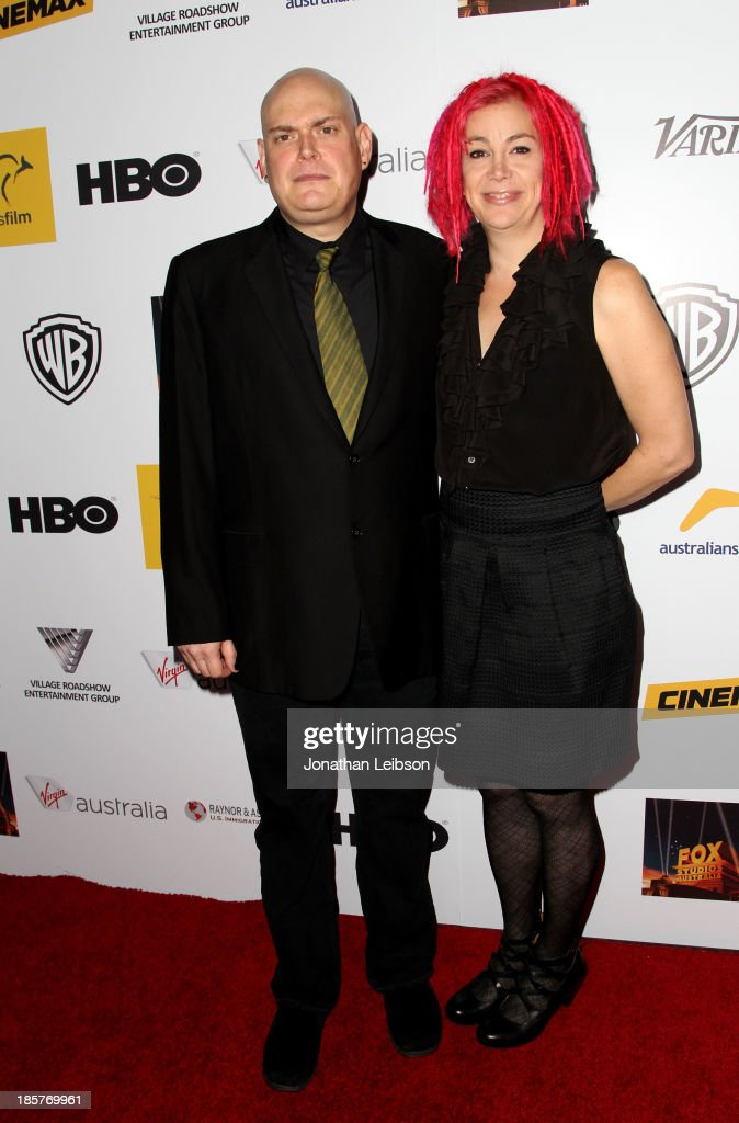 Directors Andy Wachowski (L) and Lana Wachowski attend the 2nd Annual Australians in Film Awards Gala at Intercontinental Hotel on October 24, 2013 in Beverly Hills, California.
