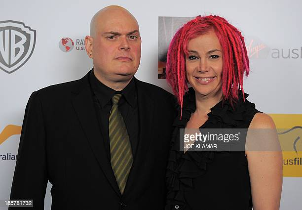 Directors Andy Wachowski and Lana Wachowski attend the 2nd Annual Australians in Film Awards Gala at Intercontinental Hotel on October 24 2013 in...