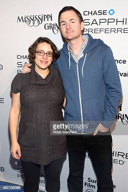 Directors Anna Boden and Ryan Fleck attend the 'Mississippi Grind' premiere party at Chase Sapphire on January 24 2015 in Park City Utah