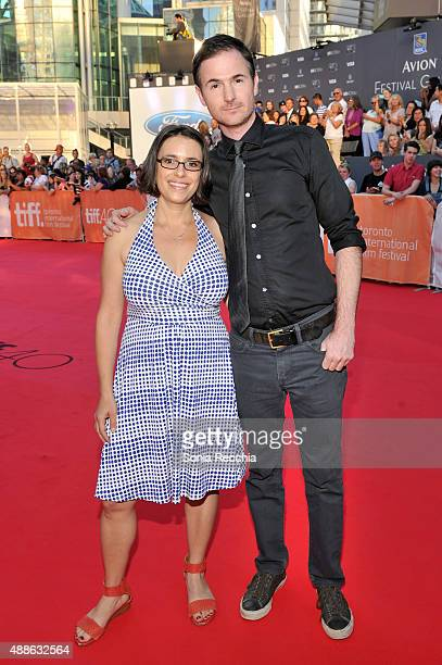 Directors Anna Boden and Ryan Fleck attend the 'Mississippi Grind' premiere during the 2015 Toronto International Film Festival at Roy Thomson Hall...
