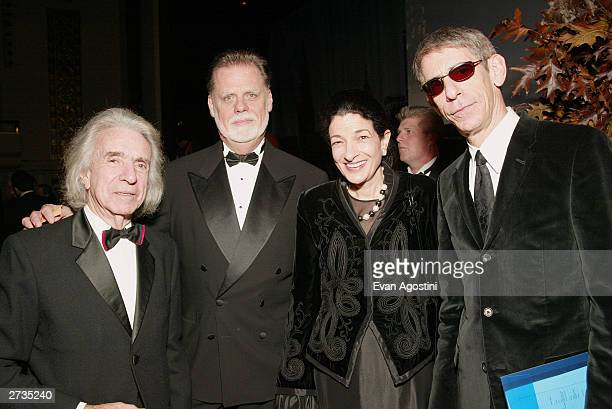 Directors Arthur Hiller Taylor Hackford with US Senator Olympia Snow and comedian Richard Belzer arrive at the 4th Annual Directors Guild of America...