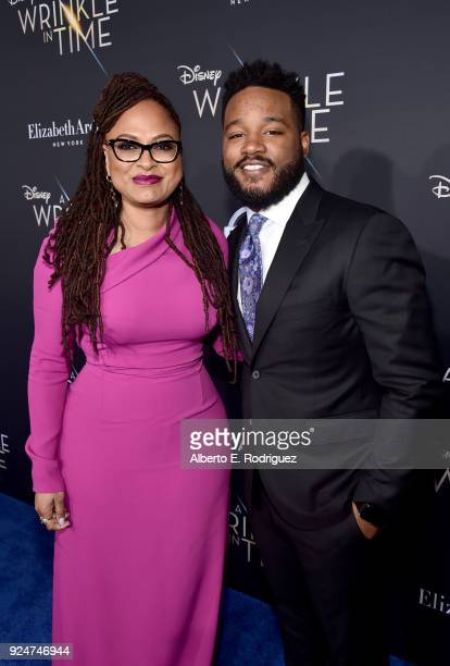 Directors Ava DuVernay and Ryan Coogler arrive at the world premiere of Disney's 'A Wrinkle in Time' at the El Capitan Theatre in Hollywood CA...
