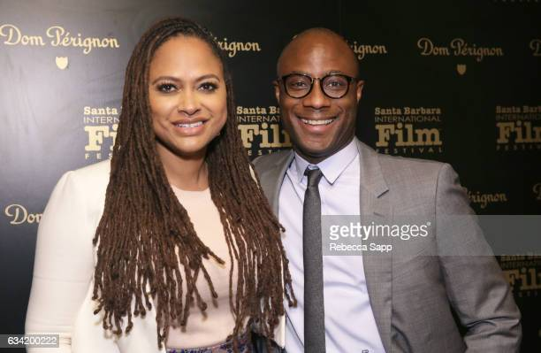 Directors Ava DuVernay of 'The 13th' and Barry Jenkins of 'Moonlight attend the Outstanding Director's Award during the 32nd Santa Barbara...