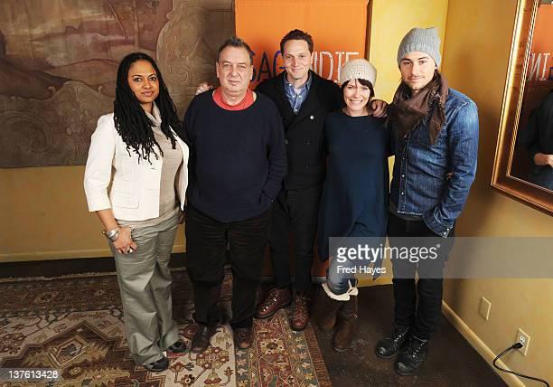 Directors Ava DuVernay, Stephen Frears, Matt Ross, Katie Aselton and Lee Toland Krieger attend the SAGIndie Filmmaker Brunch during the 2012 Sundance...