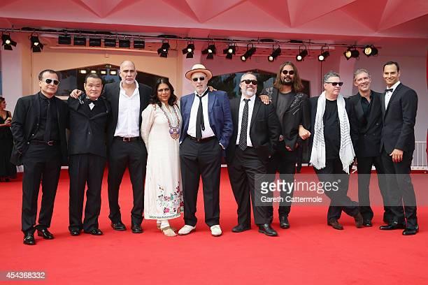 Directors Bahman Ghobadi Hideo Nakata Guillermo ArriagaMira NairHector BabencoAlex de la IglesiaWarwick Thornton Amos Gitai with producers Alex...