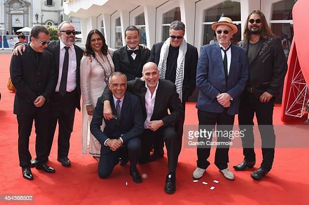 Directors Bahman Ghobadi Hideo Nakata Guillermo ArriagaMira NairHector BabencoAmos GitaiAlex de la IglesiaWarwick Thornton with Director of the...
