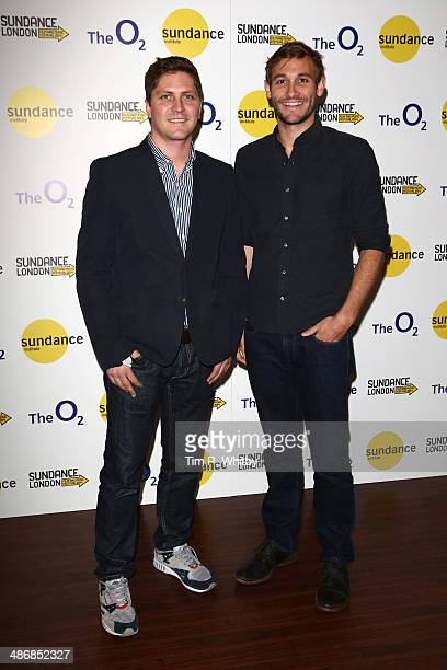 Directors Ben Cotner and Ryan White attend 'The Case Against 8' screening during the Sundance London Film and Music Festival 2014 at 02 Arena on...