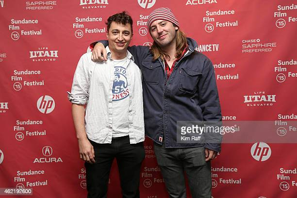 Directors Ben Zeitlin and Bill Ross attend the 'Western' Premiere during the 2015 Sundance Film Festival on January 25 2015 in Park City Utah