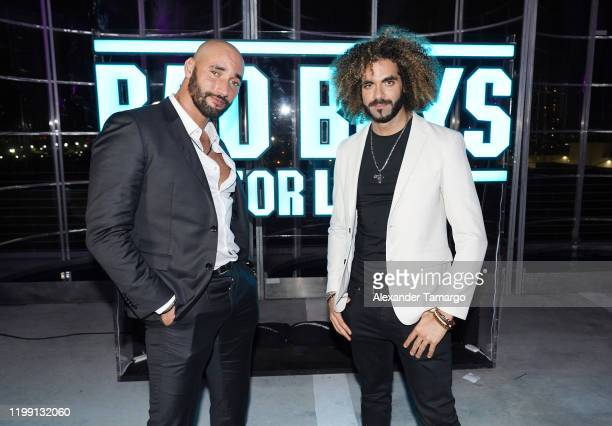 """Directors Bilall Fallah and Adil Er Arbi attend the """"Bad Boys For Life"""" Miami After Party at 1111 Lincoln Road on January 12, 2020 in Miami, Florida."""