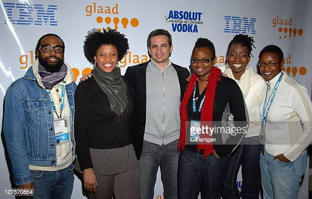 Directors Bradford Lee Pernell Walker President of GLAAD Neil Giuliano actress Dee Rees director Adepero Oduyes and Pariah Cast attend the GLAAD...