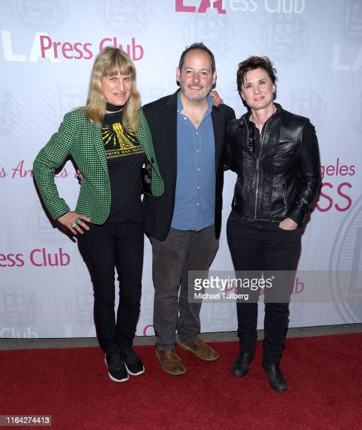 """Directors Catherine Hardwicke, Tom Donahue and Kimberly Peirce attend a Q&A session at a screening of Donahue's documentary """"This Changes Everything""""..."""