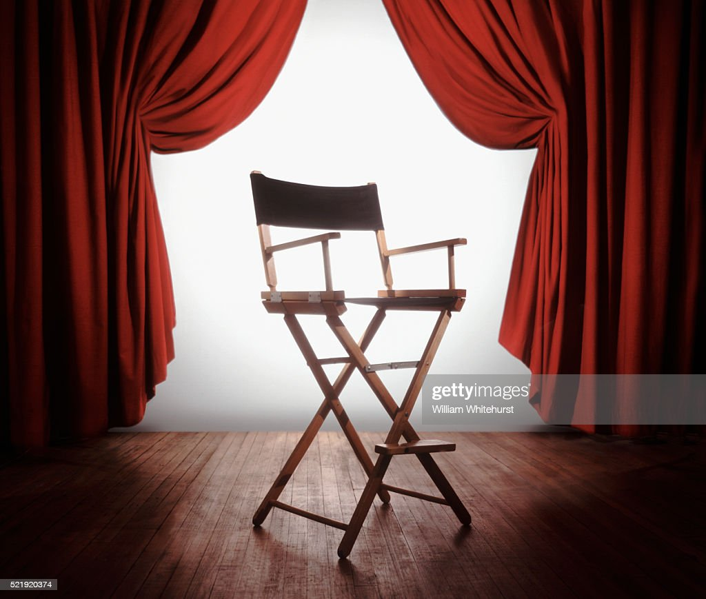 Directors Chair : Stock Photo