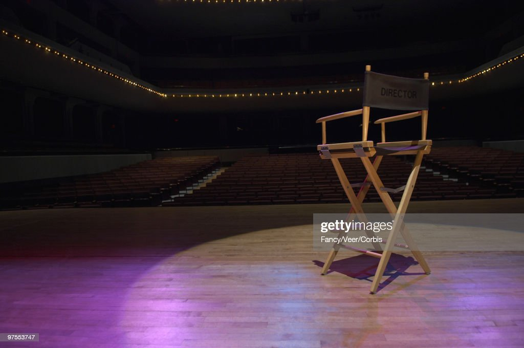 Director's chair : Stock Photo