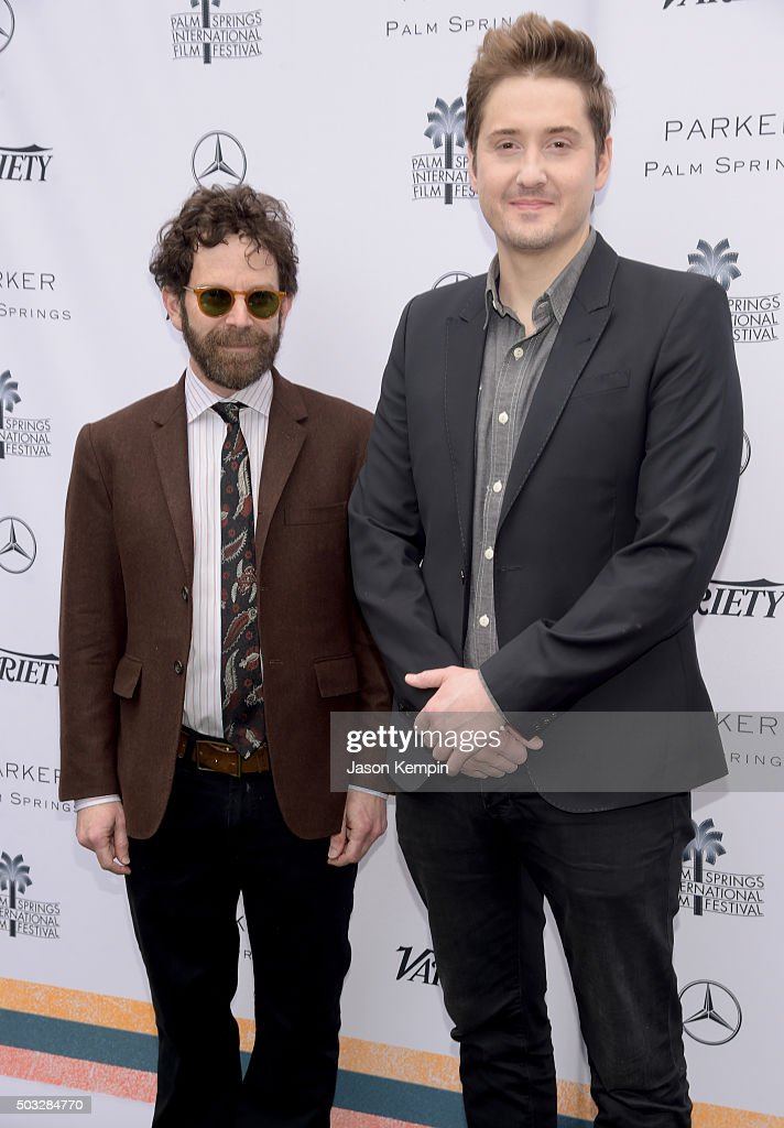 Directors Charlie Kaufman (L) and Duke Johnson attend Variety's Creative Impact Awards and 10 Directors to Watch Brunch Presented By Mercedes-Benz at The 27th Annual Palm Springs International Film Festival on January 3, 2016 in Palm Springs, California.