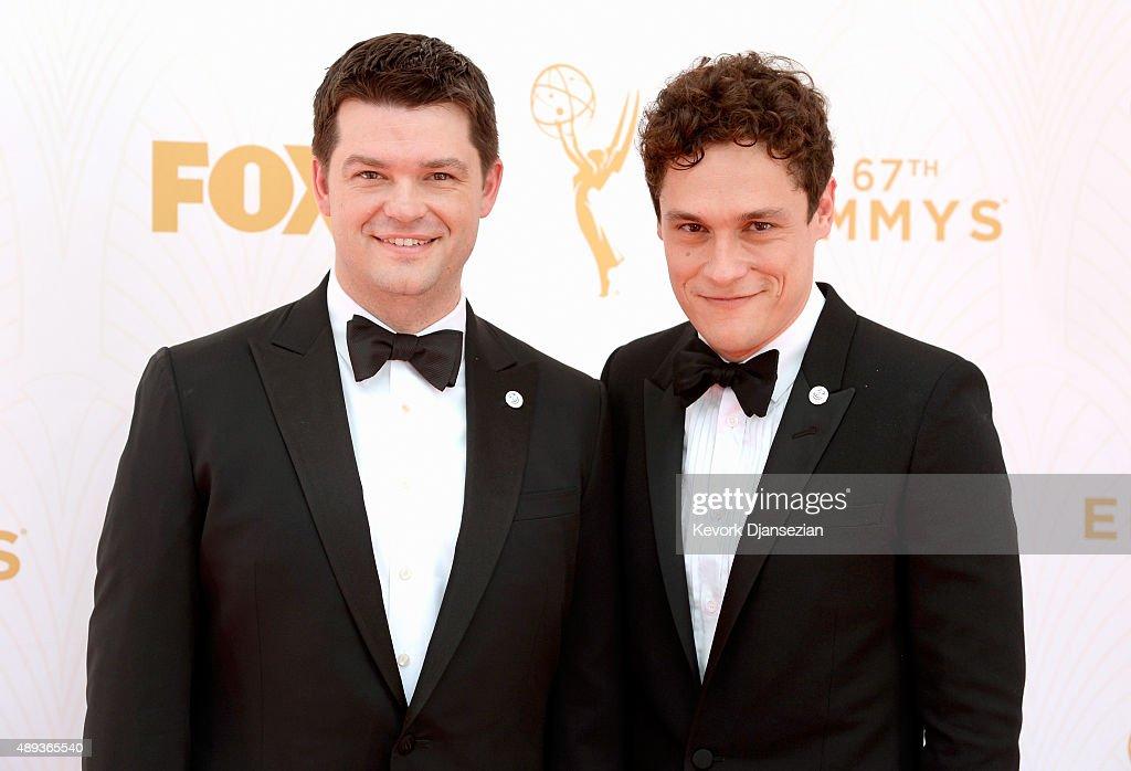 67th Annual Primetime Emmy Awards - Executive Arrivals : News Photo
