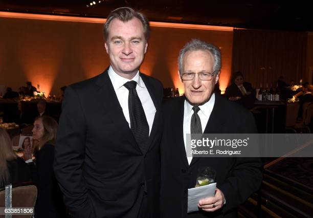 Directors Christopher Nolan and Michael Mann attend the 69th Annual Directors Guild of America Awards at The Beverly Hilton Hotel on February 4 2017...