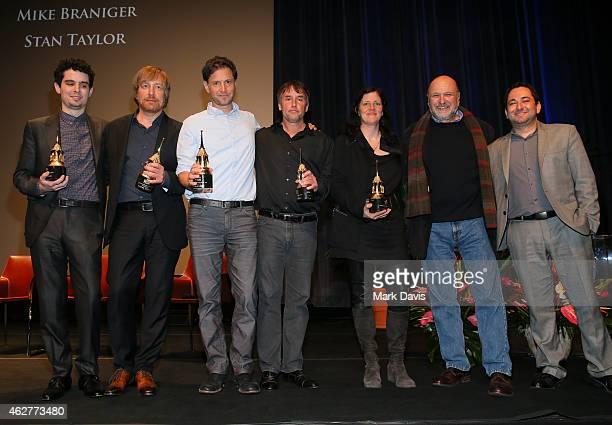 Directors Damien Chazelle of 'Whiplash' Morten Tyldum of 'The Imitation Game' Bennett Miller of 'Foxcatcher' Richard Linklater of 'Boyhood' Laura...