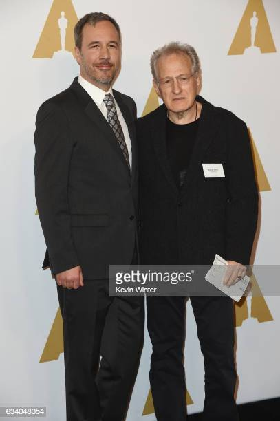 Directors Denis Villeneuve and Michael Mann attends the 89th Annual Academy Awards Nominee Luncheon at The Beverly Hilton Hotel on February 6 2017 in...