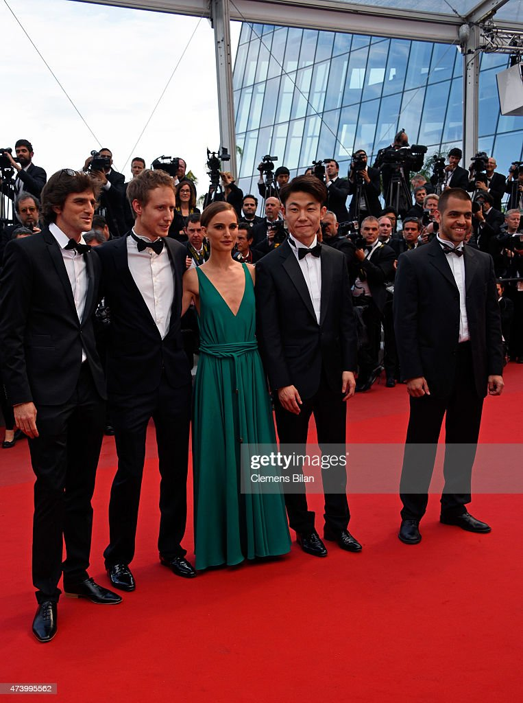 Directors Elad Keidan, Laszlo Nemes, Natalie Portman, Hong Won-Chan and Pavle Vuckovic attend the 'Sicario' Premiere during the 68th annual Cannes Film Festival on May 19, 2015 in Cannes, France.