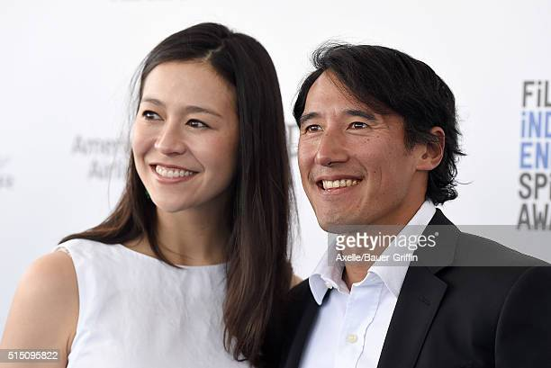 Directors Elizabeth Chai Vasarhelyi and Jimmy Chin arrive at the 2016 Film Independent Spirit Awards on February 27 2016 in Los Angeles California