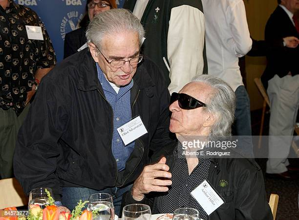 Directors Elliot Silverstein and Arthur Hiller attend the 61st Annual Directors Guild of America Awards Meet the Nominees - Feature Films nominees...