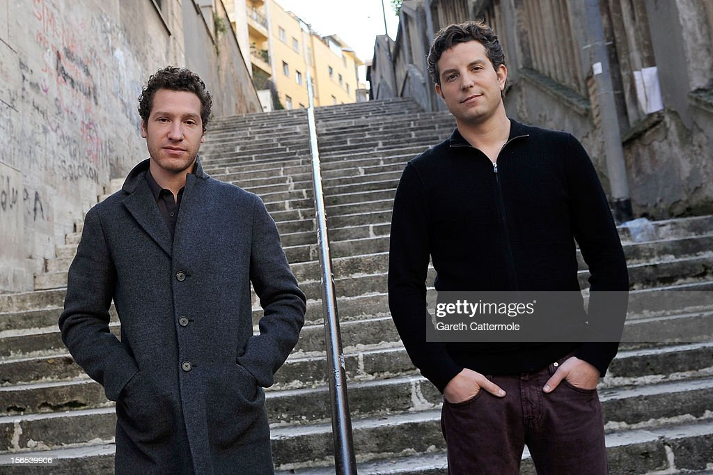 Directors Gabe Polsky and Alan Polsky during 'The Motel Life' portrait session during the 7th Rome Film Festival on November 16, 2012 in Rome, Italy.