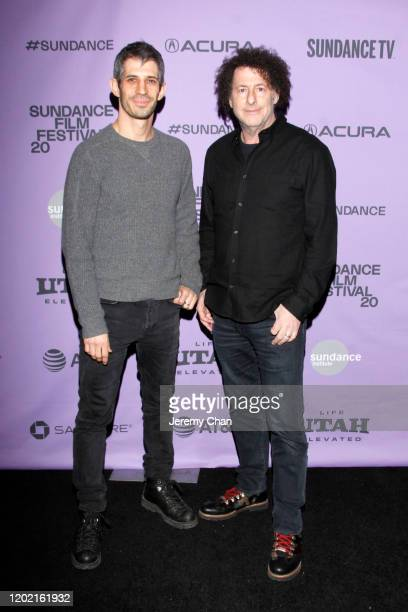 Directors Gregory Kershaw and Michael Dweck attend the 2020 Sundance Film Festival The Truffle Hunters Premiere at Prospector Square Theatre on...