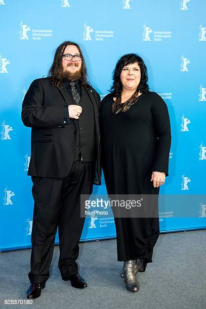 Directors Iain Forsyth and Jane Pollard attend the '20.000 Days on Earth' photocall during 64th Berlinale International Film Festival at Grand Hyatt...