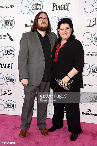 Directors Iain Forsyth and Jane Pollard attend the 2015 Film Independent Spirit Awards at Santa Monica Beach on February 21 2015 in Santa Monica...