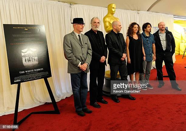 Directors Jacques Audiard 'A Prophet' Michael Haneke 'The White Ribbon' Yaron Shani 'Ajami' Claudia Llosa 'The Milk Of Sorrow' Scandar Copti 'Ajami'...