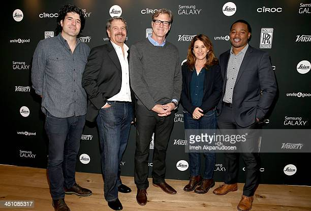 Directors JC Chandor John Wells John Lee Hancock Nicole Holofcener and Ryan Coogler attend Variety Awards Studio Day 2 at the Leica Gallery and Store...