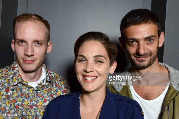 Directors JeanPaul Kelly Mary Helena Clark and Ali Cherri attend the Wavelengths 2 Documentary during the 2012 Toronto International Film Festival at...