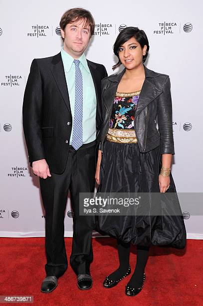 Directors Jeff Reichert and Farihah Zaman attend the This Time Next Year Premiere during the 2014 Tribeca Film Festival at the SVA Theater on April...