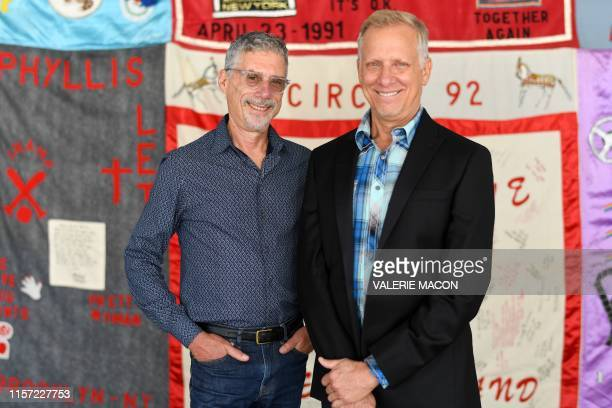 Directors Jeffrey Friedman and Rob Epstein attend Common Threads Stories from The Quilt 30th Anniversary Screening and Restoration World Premiere...