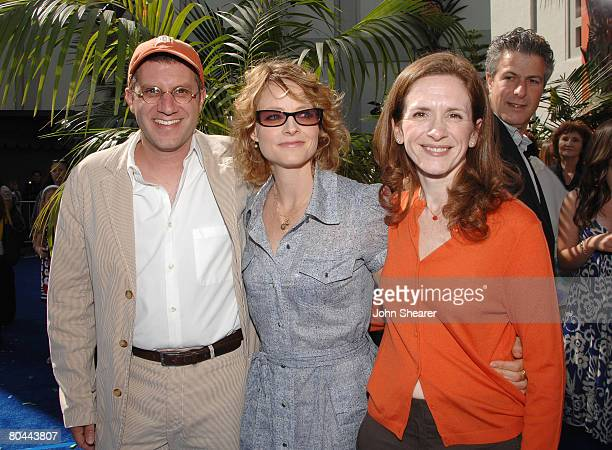 Directors Jennifer Flackett and Mark Levin and actress Jodie Foster attend Fox Walden's world premiere of Nim's Island on March 30 2008 at Grauman's...