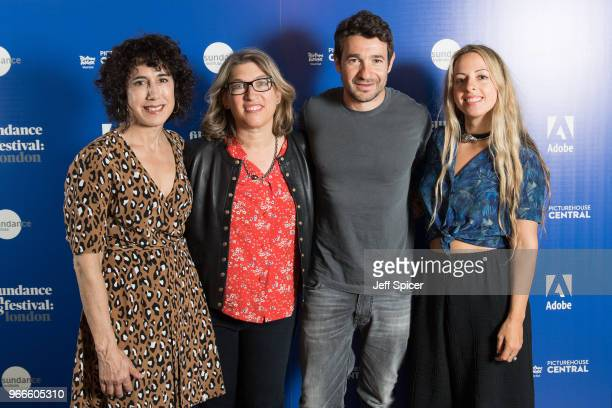 Directors Jennifer Fox Bart Layton Lauren Greenfield and Crystal Moselle arrive for 'The Art Of The Real' panel discussion during the 2018 Sundance...