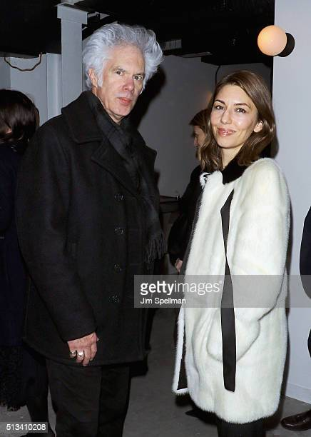 Directors Jim Jarmusch and Sofia Coppola attend the Metrograph opening night at Metrograph on March 2, 2016 in New York City.