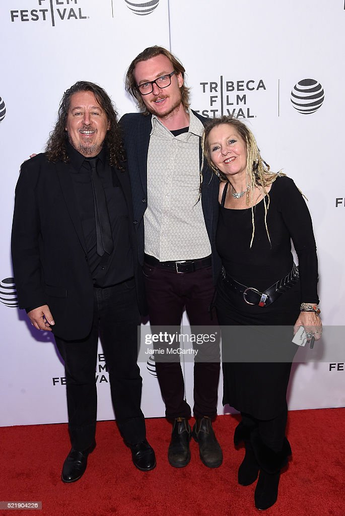 Directors Joe D'Arcy, Mikey Hill and Carol D'Arcy attend Whoopi's Shorts - 2016 Tribeca Film Festival at Festival Hub on April 17, 2016 in New York City.