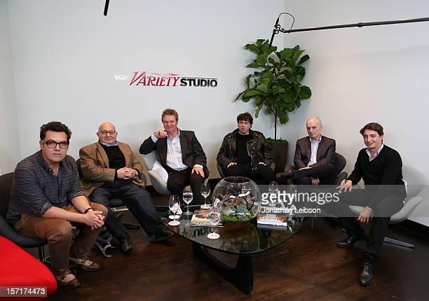 Directors Joe Wright Ben Lewin John Madden Variety's Stuart Levine Directors Sacha Gervasi David Chase and Benh Zeitlin attend The Variety Studio...