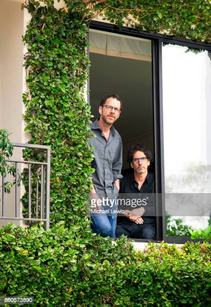 Directors Joel and Ethan Coen photographed for New York Times on July 24 in Santa Monica California