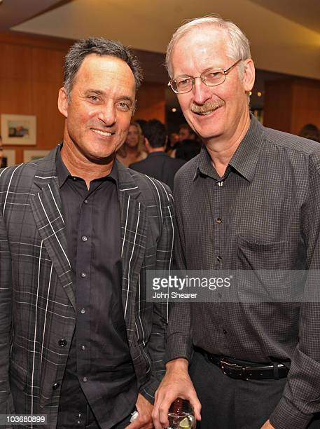 Directors John Musker and Mike Gabriel attend the AMPAS' 14th Annual Marc Davis Celebration of Animation at the AMPAS Samuel Goldwyn Theater on July...