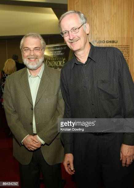 Directors John Musker and Ron Clements attend the AMPAS' 14th Annual Marc Davis Celebration of Animation at the AMPAS Samuel Goldwyn Theater on July...