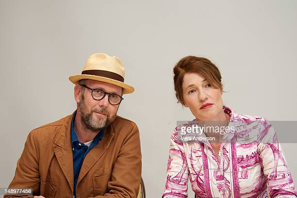 Directors Jonathan Dayton and Valerie Faris at the 'Ruby Sparks' Press Conference at the Four Seasons Hotel on July 19 2012 in Beverly Hills...