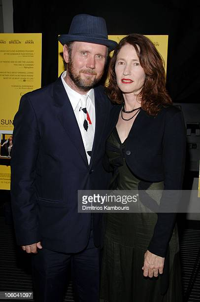 """Directors Jonathan Dayton and wife Valerie Faris during """"Little Miss Sunshine"""" New York City Premiere - Inside Arrivals at AMC Loews Lincoln Square..."""