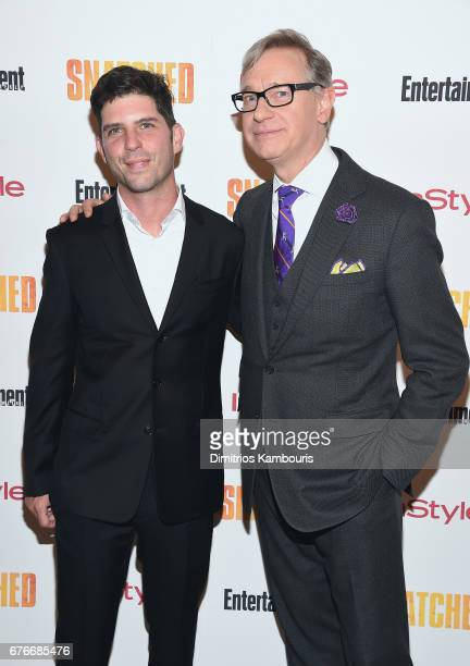 Directors Jonathan Levine and Paul Feig attend the Snatched New York Premiere at the Whitby Hotel on May 2 2017 in New York City